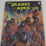 Planet of the Apes Coloring Book 1974 Unused Artcraft