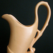 Vase Camark Ewer Peach No.268 Vintage Pitcher