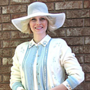 Cardigan 1970s Outfit Petites Napa Valley Ribboned 1970s
