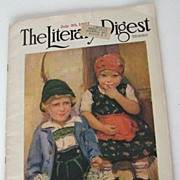 Magazine 1927 The Literary Digest July 30th. 1927