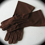 SOLD Gloves Brown Ladies Small