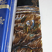 Necktie Pheasant Tie Bar Ducks Set Reed James Set