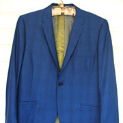 Jacket Louis Roth California Mens Royal Blue Clarkes
