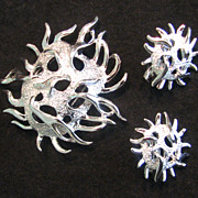 Sarah Coventry Sea Urchin 1970 Set