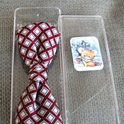 SALE Bowtie NOS Burgundy Diamonds