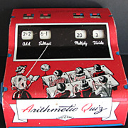 Toy Wolverine Quiz Arithmetic Tin Machine