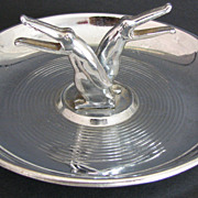 Ashtray Pincherette Chrome Bird