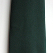 Necktie YSL Yves Saint Laurent Deadstock Neiman Marcus Green