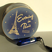 Evening in Paris Powder Perfume Flacon