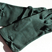 Gloves Fownes Green Emerald Embraceable