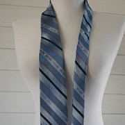Necktie Egon Von Furstenberg Mens Stripes