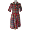 Dress Lillian Russell Seersucker Plaid Summer