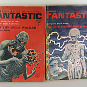 Fantastic 1964 Books Science Fiction Yahoos Set