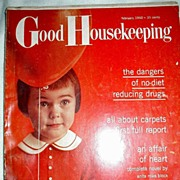 Magazine February 1960 Good Housekeeping