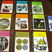 SALE The Home Adventure Library 10 Volume Set, 1968 1st Edition‏