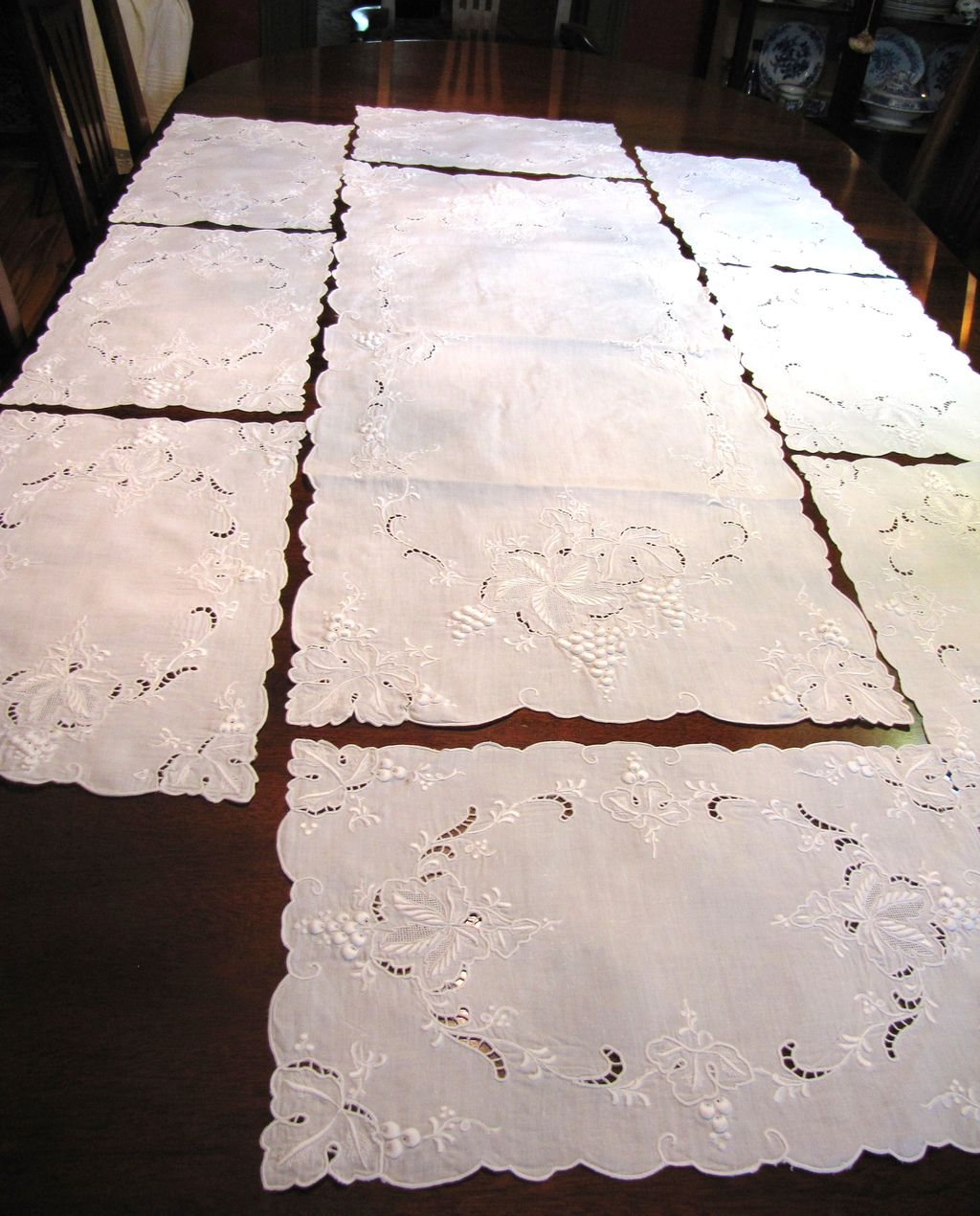 Long Table Runners And Placemats Table Runner 8 Placemats