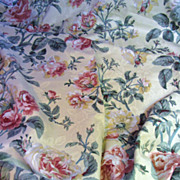 "Romantic 15 Color Waverly Screen Printed Cotton Brocade 100"" x 56"""