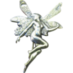 Beautiful Sterling Silver Flying Fairy Pin, So Pretty!