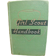SALE 1949 Girl Scout Handbook Intermediate Program‏