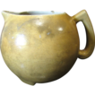 Rare circa 1890 to 1910 Stoneware Alkaline Glazed Lemonade Pitcher‏