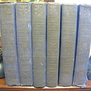 1916-21, &quot;Masterpieces of Oriental Mystery&quot; by Sax Rohmer, 6 Book Set&#8207;