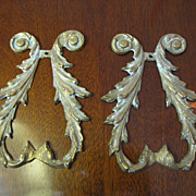 Ornate Cast brass Large Furniture or Architectural Embellishments