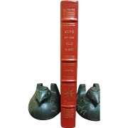 Leather Bound &quot;Guns Of The Old West&quot; by Charles Edward Chapel-Like New