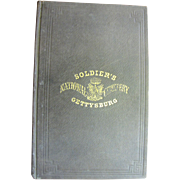 Soldier's National Cemetery Gettysburg 1864 Select Comittee Report Including  Abraham Lincoln'