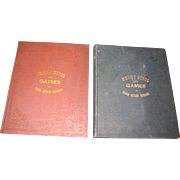SALE 1881 & 1887 Merry Songs and Games, Rare Victorian Childrens Songbooks‏