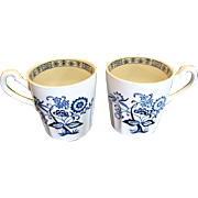 Hard to Find Pair J G Meakin Nordic Pattern Mugs, (total of 3 pairs available).