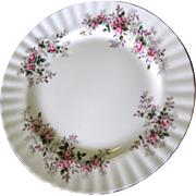"8 1/4"" Salad Plate in Lavender Rose Pattern by Royal Albert (8 available)"