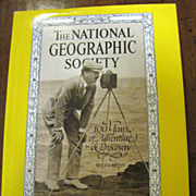 National Geographic Society: 100 Years of Adventure and Discovery Bryan 1987&#8207;