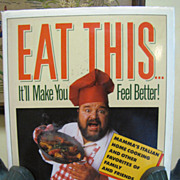 Signed 1st Ed, Eat This...It'll Make You Feel Better! Dom DeLuise