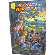 1965, A Whitman Tween Age Book #1756, Mystery at Redtop Hill by Marjory Schwalje&#8207;