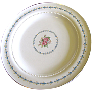 Harmony House Mount Vernon 10 1/4&quot; Dinner Plate By Hall China