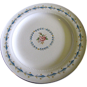 Harmony House Mount Vernon 6 1/4 &quot; Bread Plate By Hall China