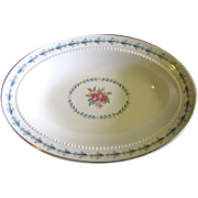 Harmony House Mount Vernon 9 &quot;Oval Vedge Bowl By Hall China