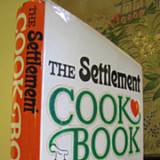 The Settlement Cook Book: 1965 Seventh Printing‏