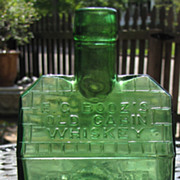 Good Looking Repro, E.G. Booz's Old Cabin Whiskey 1840‏
