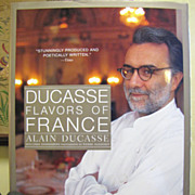 "Alain Ducasse ""Flavors of France"" Large Cookery Book, Like New‏"