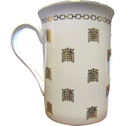 "Lovely Houses of Parliament China Souvenir Mug ""House of Commons"""