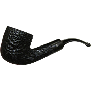 Vintage Rustic Smoking Pipe by Concord Briar
