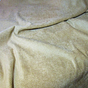 3 3/4 Yd Long Bolt End of Rich Golden Dappled Velour
