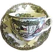 Lovely Johnson Bros Friendly Village Cup & Saucer (up to 3 available)