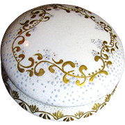 SALE Beautiful French Limoges Early 1900's  Elite Powder Box