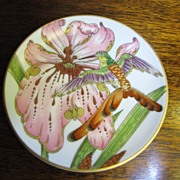Hutschenreuther Germany Vintage Hummingbird Ole Winther Small  Plate or Pin Tray