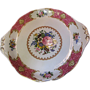 "Royal Albert ""Lady Carlyle"" Two-Handed Cake Serving Plate"