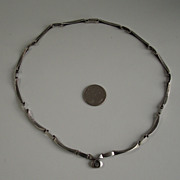Karl Laine Finland Sten & Laine finnish sterling silver necklace rare