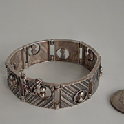 Silver  bracelet Kultateollisuus Ky  Turku Finland 1967