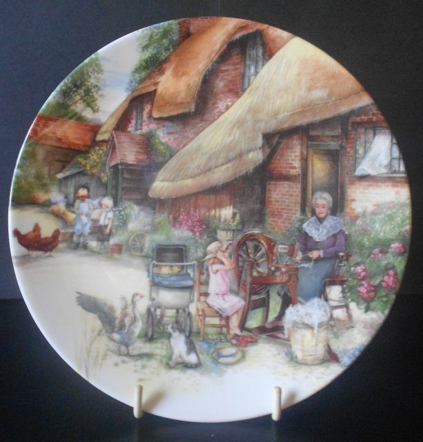 Royal Doulton Limited Edition Porcelain Ceramic Plate by Susan Neale